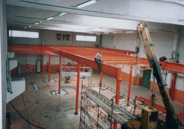 montáž plošiny haly pro REKUFOL v DOKSECH