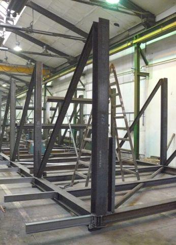 výroba ocelové konstrukce